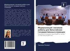 Copertina di Модернизация: значение работы для бельгийских государственных служащих