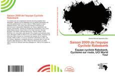Обложка Saison 2009 de l'équipe Cycliste Rabobank