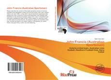 Bookcover of John Francis (Australian Sportsman)