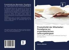 Buchcover von Produktivität der Mitarbeiter: Paradigma zur organisatorischen Leistungsfähigkeit