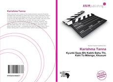 Bookcover of Karishma Tanna