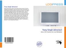 Capa do livro de Tony Singh (director)