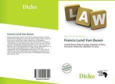 Обложка Francis Lund Van Dusen