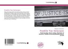 Bookcover of Franklin Van Antwerpen