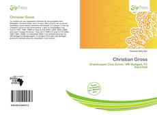 Bookcover of Christian Gross