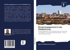 Copertina di Bürgerengagement in der Stadtplanung