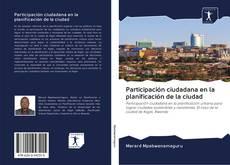 Buchcover von Participación ciudadana en la planificación de la ciudad
