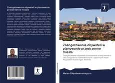 Bookcover of Zaangażowanie obywateli w planowanie przestrzenne miasta