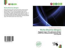 Buchcover von Richa Sharma (Singer)