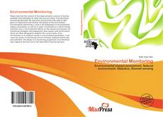 Bookcover of Environmental Monitoring