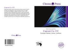 Buchcover von Caproni Ca.132