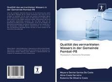 Buchcover von Qualität des vermarkteten Wassers in der Gemeinde Pombal-PB