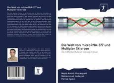 Capa do livro de Die Welt von microRNA-377 und Multipler Sklerose