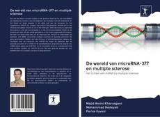 Capa do livro de De wereld van microRNA-377 en multiple sclerose