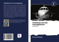 Capa do livro de Inleiding tot het management
