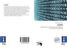 Capa do livro de LEON