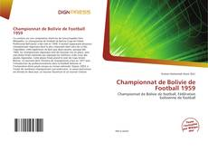 Couverture de Championnat de Bolivie de Football 1959