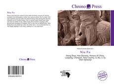 Portada del libro de Niu Fu