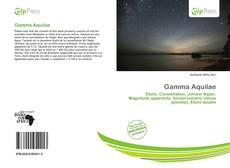 Portada del libro de Gamma Aquilae
