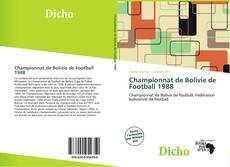 Bookcover of Championnat de Bolivie de Football 1988