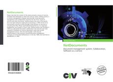 Bookcover of NetDocuments