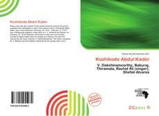 Bookcover of Kozhikode Abdul Kader