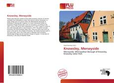 Bookcover of Knowsley, Merseyside