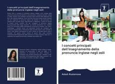 Borítókép a  I concetti principali dell'insegnamento della pronuncia inglese negli asili - hoz