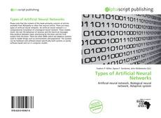 Bookcover of Types of Artificial Neural Networks