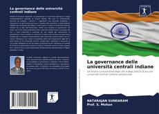 La governance delle università centrali indiane的封面