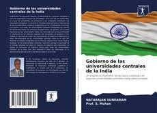 Portada del libro de Gobierno de las universidades centrales de la India