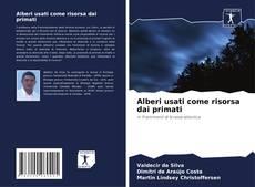 Portada del libro de Alberi usati come risorsa dai primati