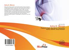 Bookcover of Asha G. Menon