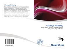 Bookcover of Akshaya Mohanty