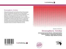Capa do livro de Stratospheric Airship