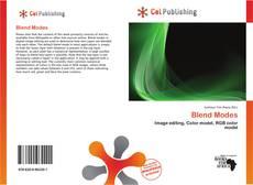 Capa do livro de Blend Modes
