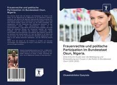 Copertina di Frauenrechte und politische Partizipation im Bundesstaat Osun, Nigeria.