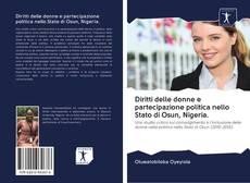 Bookcover of Diritti delle donne e partecipazione politica nello Stato di Osun, Nigeria.