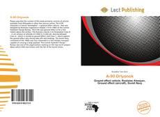Buchcover von A-90 Orlyonok