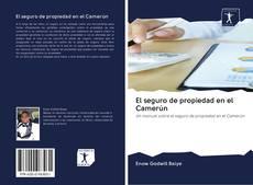 Portada del libro de El seguro de propiedad en el Camerún