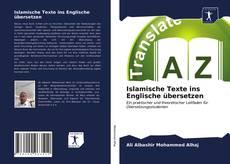 Buchcover von Islamische Texte ins Englische übersetzen