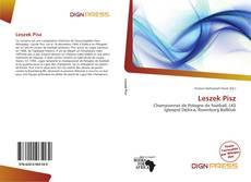 Capa do livro de Leszek Pisz