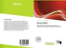 Bookcover of Ernest Pohl