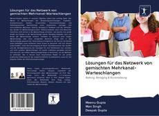 Buchcover von Lösungen für das Netzwerk von gemischten Mehrkanal-Warteschlangen