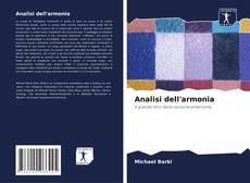 Capa do livro de Analisi dell'armonia