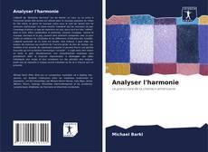 Analyser l'harmonie kitap kapağı