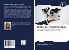 Couverture de MIGRATION ET CAPITAL SOCIAL