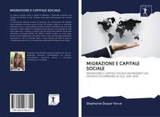 Portada del libro de MIGRAZIONE E CAPITALE SOCIALE