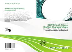 Capa do livro de 2009 Finnish Figure Skating Championships