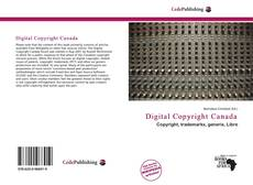 Bookcover of Digital Copyright Canada